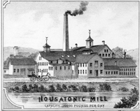 Housatonic Mill lithograph